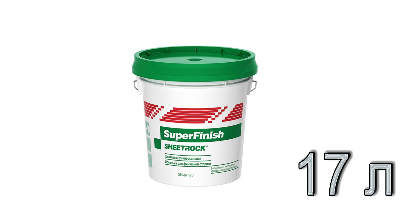 ШПАКЛЕВКА SHEETROCK Super Finish 17л/28кг (36шт/под.)